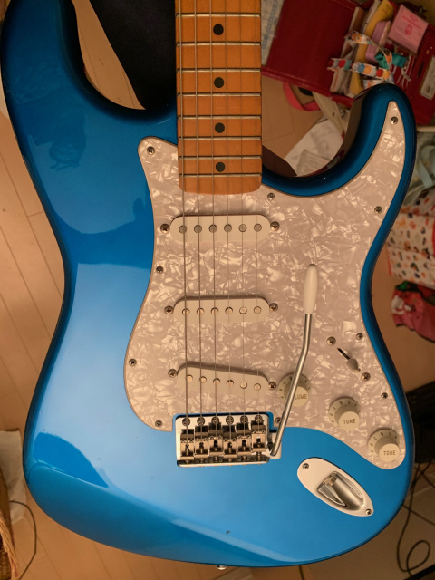Fender Japan '62 Stratocaster 1992 CANDY APPLE BLUE