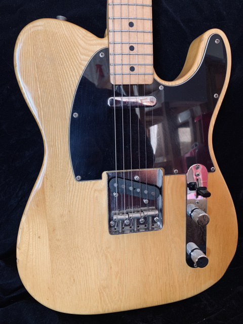 Fender Japan '72 RI Telecaster Guitar Blonde 1993